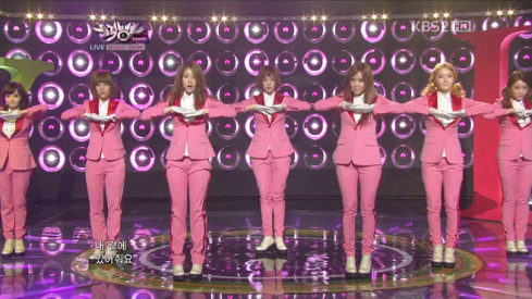 T-ara - Sexy Love Music Bank