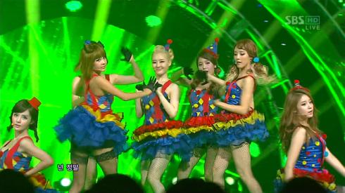 T-ara - Sexy Love Inkigayo
