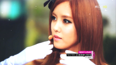 T-ara - Sexy Love Music Core Hyomin
