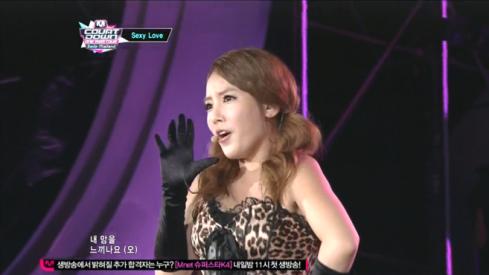 T-ara - Sexy Love - M! Countdown Smile Thailand