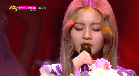 Lee Hi - Rose - Music Core April 20th 2013