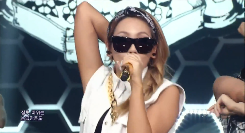 CL - The Baddest Female - Inkigayo June 9th 2013